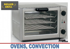 OVENS CONVECTION by ROLLER GRILL - K.F.Bartlett LtdCatering equipment, refrigeration & air-conditioning